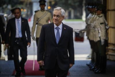 """Piñera: """"Ha habido atentados contra generación eléctrica y agua potable"""""""