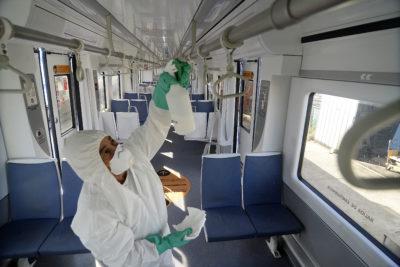 Metro de Valparaíso refuerza sanitización de trenes y toma medidas por coronavirus