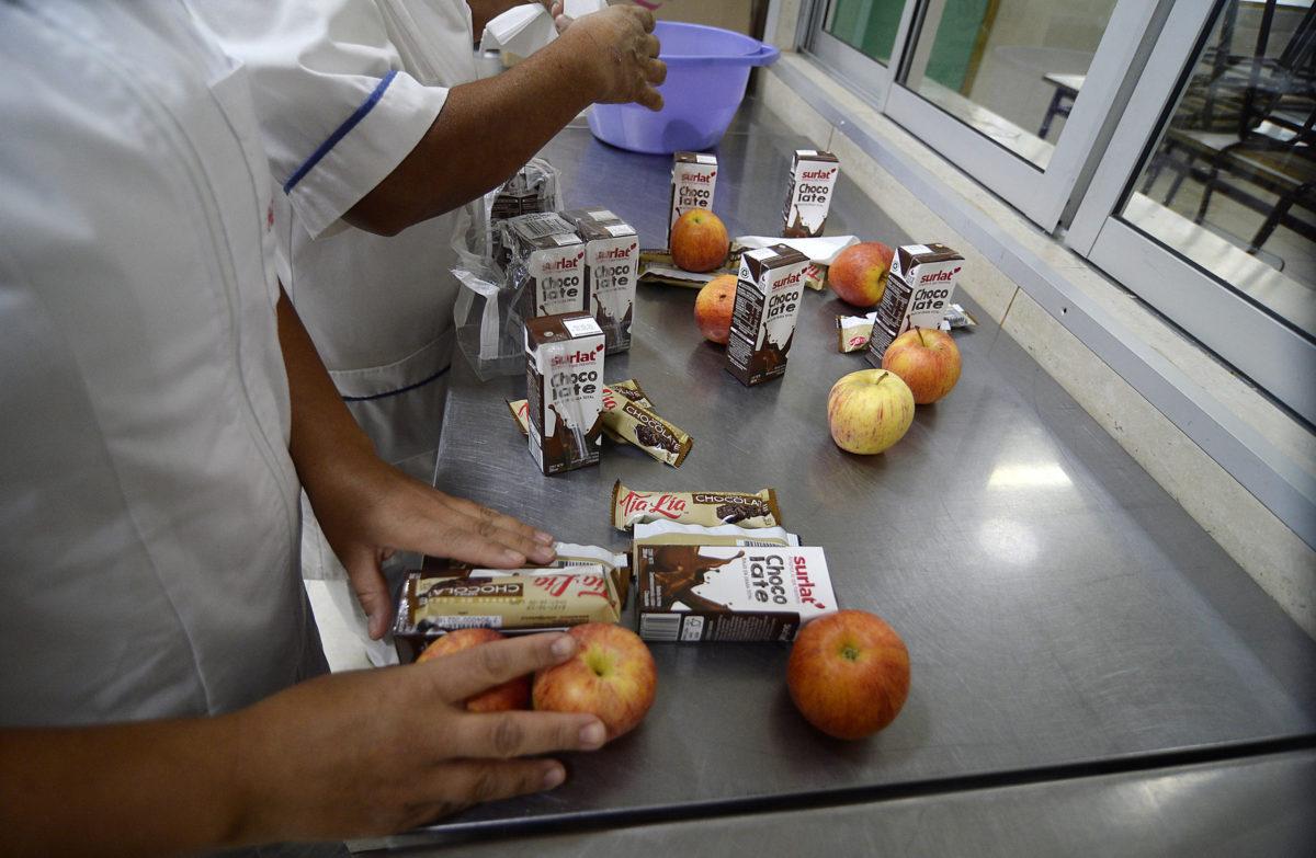 """""""Cómo será el proceso de entrega de las canastas de alimentación Junaeb durante la emergencia del coronavirus"""""""