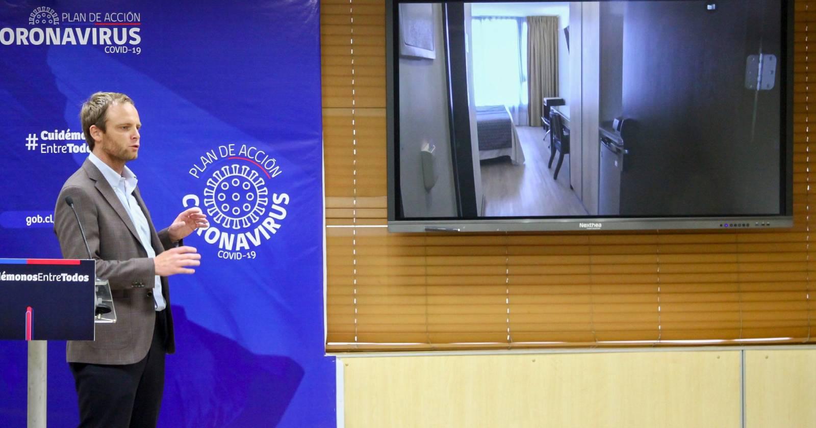Minsal presentó residencias sanitarias para cuarentenas por coronavirus