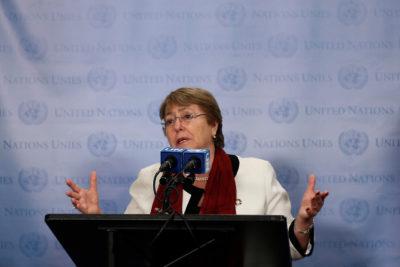 Bachelet llama a combatir la discriminación provocada por el coronavirus