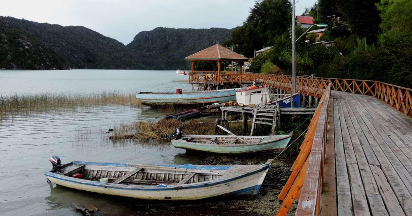 Caleta Tortel: la primera comuna de salir de la cuarentena