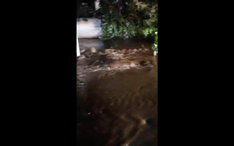 """""""Rotura en cuatro matrices de agua afectan a Providencia y Ñuñoa"""""""
