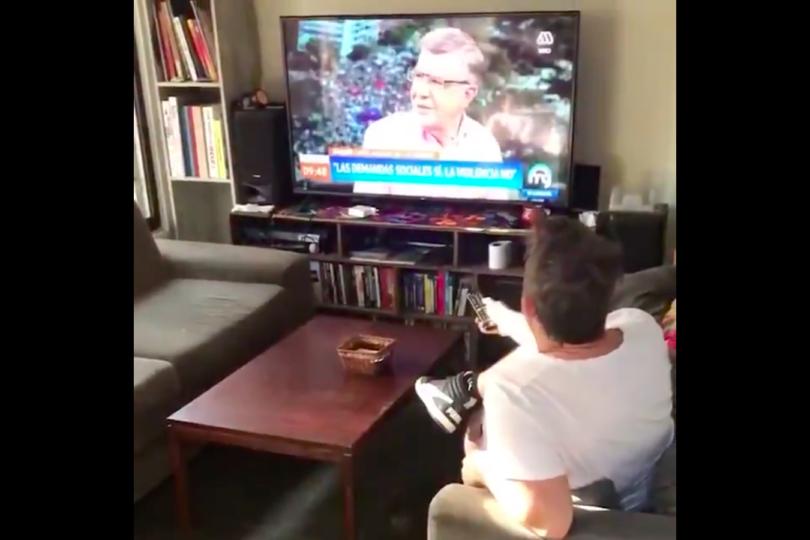 El video de Joaquín Lavín que se hizo viral en las últimas horas