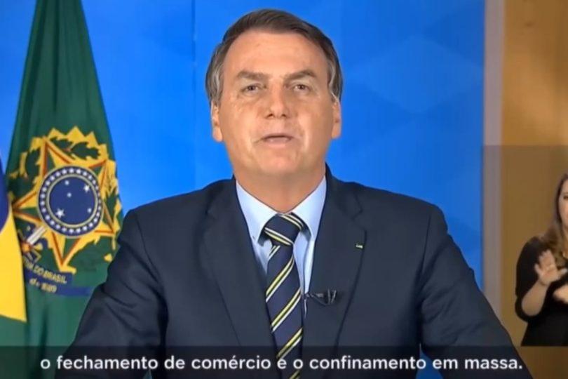 """Con más de 2 mil contagios, Bolsonaro califica el coronavirus de """"gripecita"""" y critica las medidas de cuarentena"""