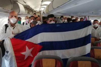 Países envían ayuda sanitaria a Italia: Cuba aterriza con médicos y Rusia con insumos