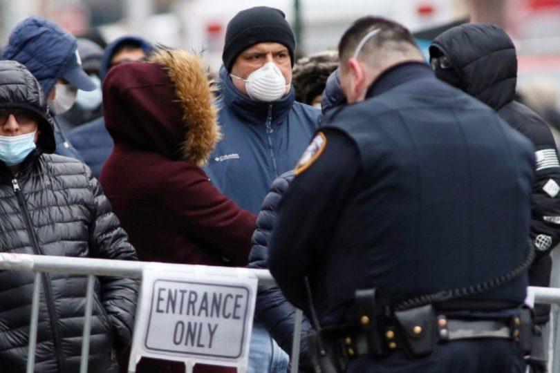 Estados Unidos supera los mil muertos por coronavirus y registra cerca de 70 mil contagiados