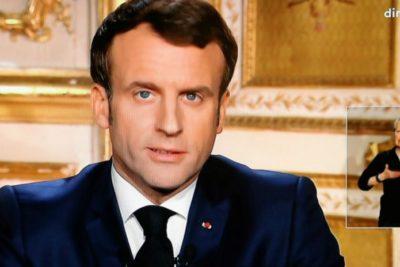 Coronavirus: Francia declara estado de alarma y Macron suspende pago de servicios básicos