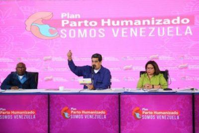 """""""A parir, pues, a parir!"""": Nicolás Maduro llama a tener seis hijos para que """"crezca la patria"""""""