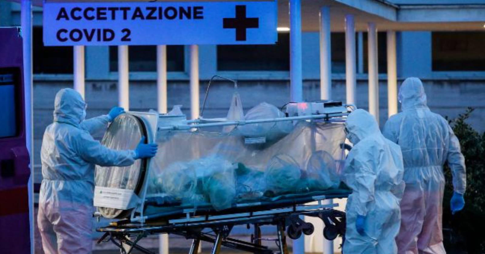 Italia registra casi 1.000 muertes en un día por coronavirus