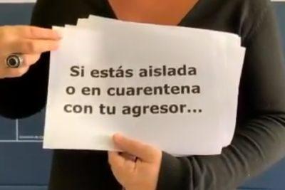 Cuarentena: Sernameg viraliza video para incentivar a mujeres a denunciar episodios de violencia