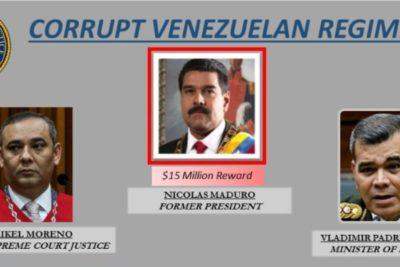 Estados Unidos fija precio a cúpula chavista y uno de los generales anuncia que se entregará a la justicia