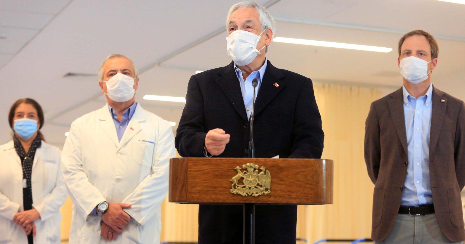 """Piñera y coronavirus: """"Es un enemigo poderoso, que no respeta a nadie"""""""