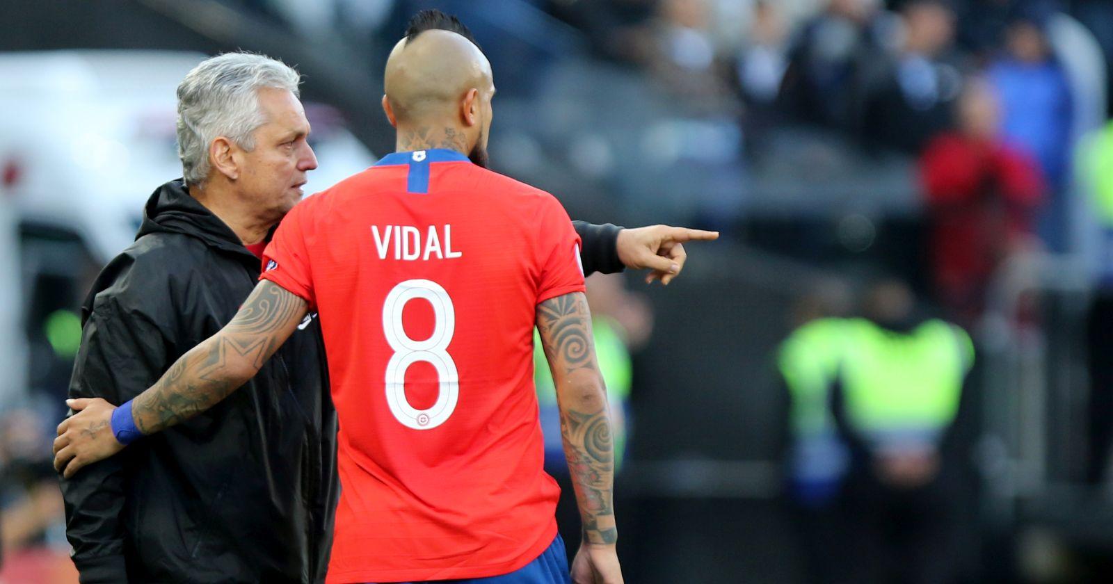 """Reinaldo Rueda y el futuro de Arturo Vidal:"