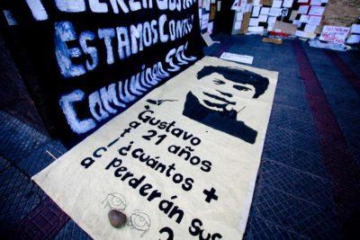 Liberan inéditas imágenes del día que Gustavo Gatica fue herido