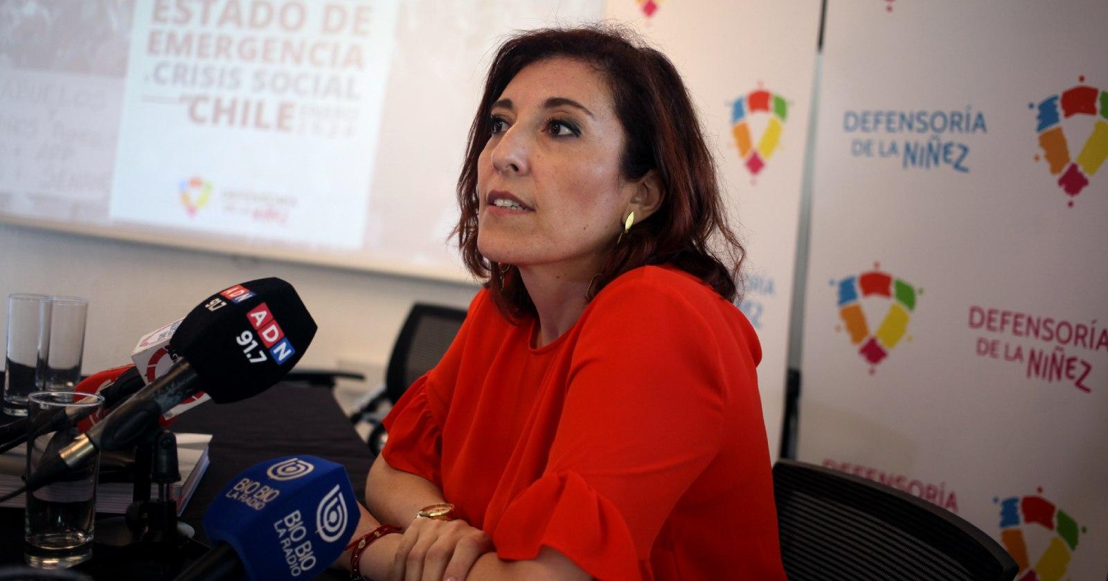 """""""Defensora de la Niñez cuestiona convenio de inteligencia entre ANI y Sename"""""""