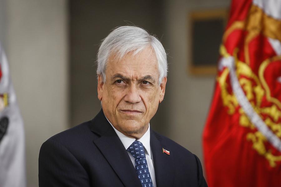 VIDEO | Presidente Sebastián Piñera visita la Plaza Italia