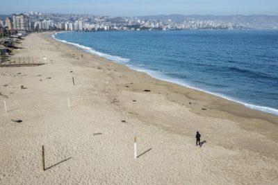 Virginia Reginato pide cerrar las playas de Viña del Mar para Semana Santa