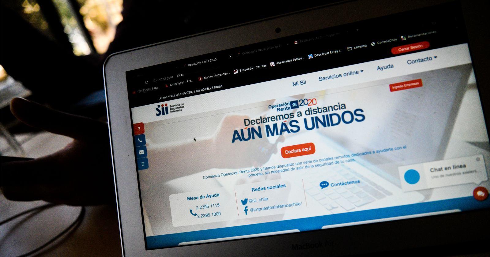 SII devolverá retenciones de enero y febrero a 634 mil trabajadores independientes