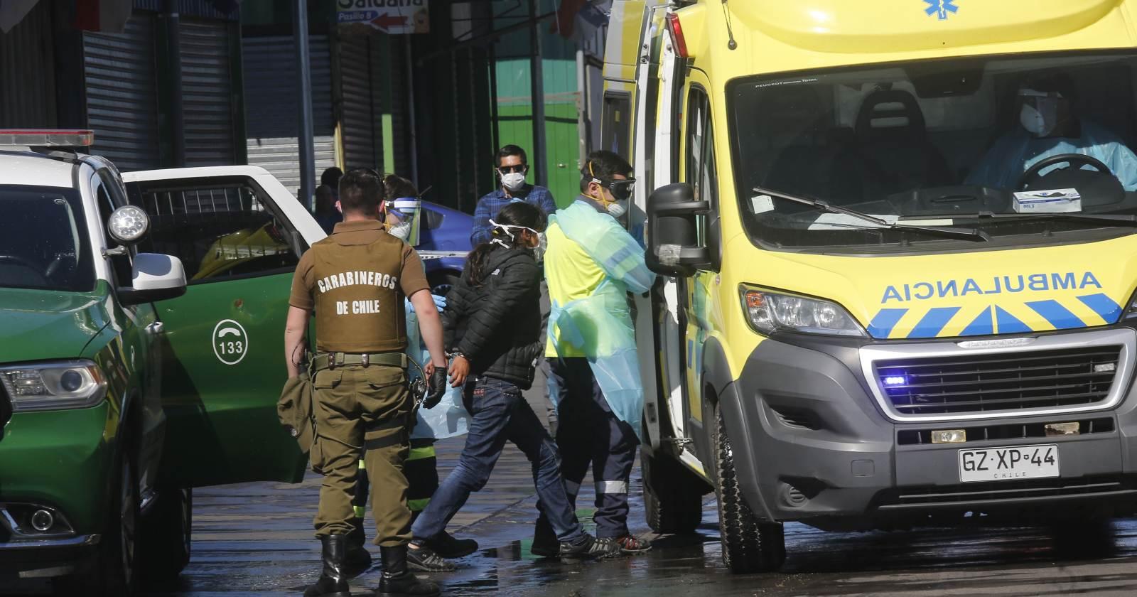 La emergencia que desató la fuga de una mujer con COVID-19 del hospital de Talcahuano