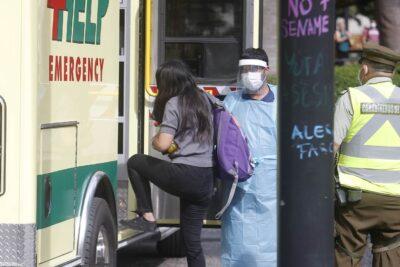 Gobierno se querelló contra mujer con COVID-19 detenida en Plaza de Armas