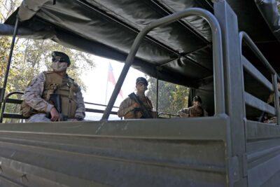 Ejército se sumará a patrullajes policiales tras aumento de robos en Santiago