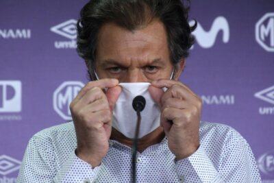 """Aníbal Mosa: """"Espero que la cordura pueda prevalecer de parte de los jugadores"""""""