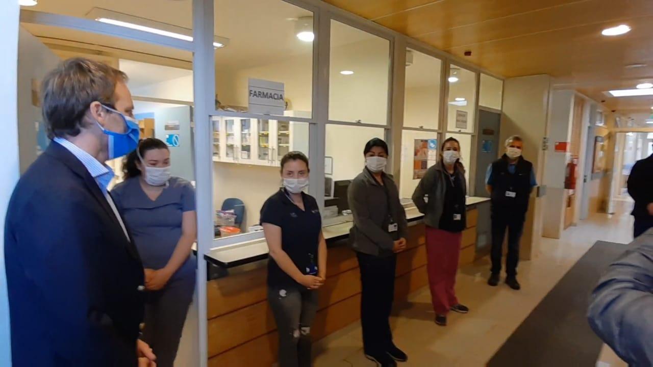 Minsal se reúne con compañeros de trabajo de funcionaria fallecida por Covid-19