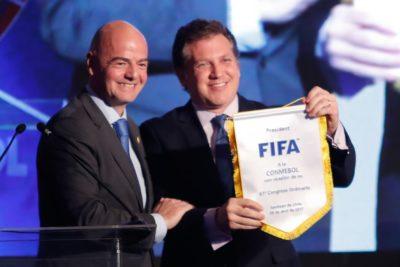Conmebol pide a la FIFA crear un Fondo Global de Ayuda para enfrentar la crisis