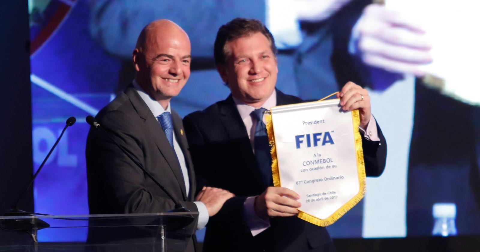 """""""Conmebol pide a la FIFA crear un Fondo Global de Ayuda para enfrentar la crisis"""""""
