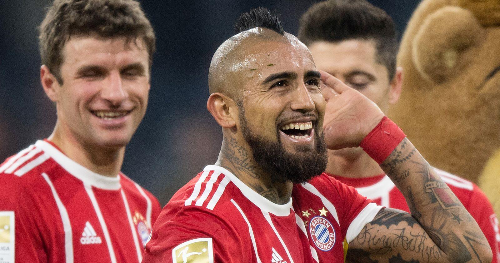 Arturo Vidal aparece entre los mejores jugadores del siglo XXI del Bayern