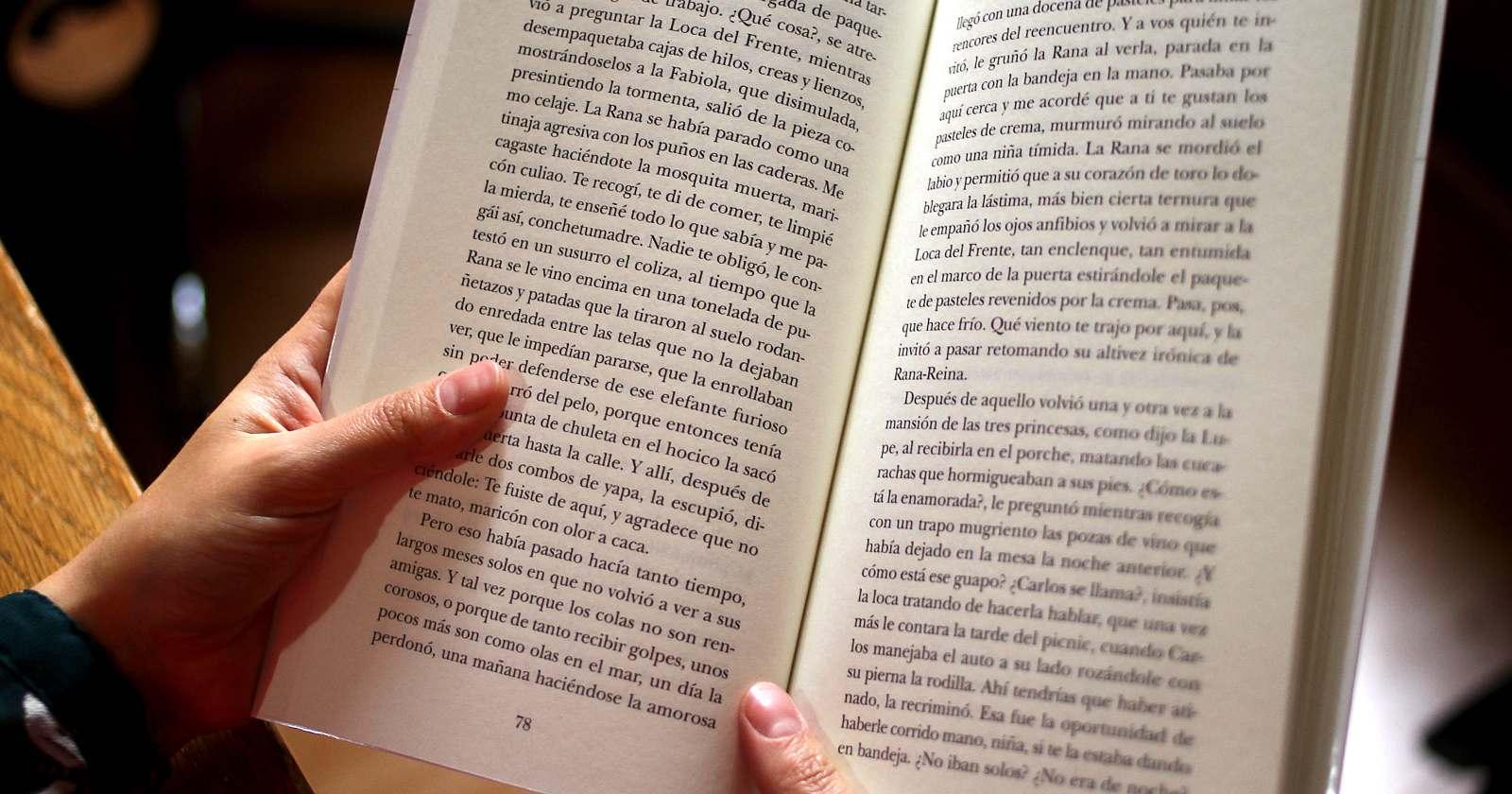 Lectura y bienestar