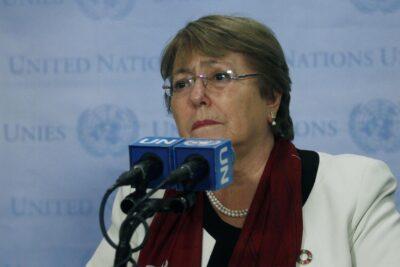 Bachelet advierte sobre represión y censura durante la pandemia de Covid-19