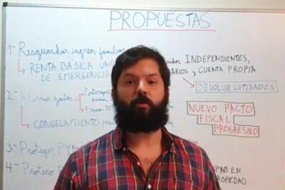 """Plan del Frente Amplio ante crisis por coronavirus incluye """"nacionalización parcial"""" de grandes empresas"""