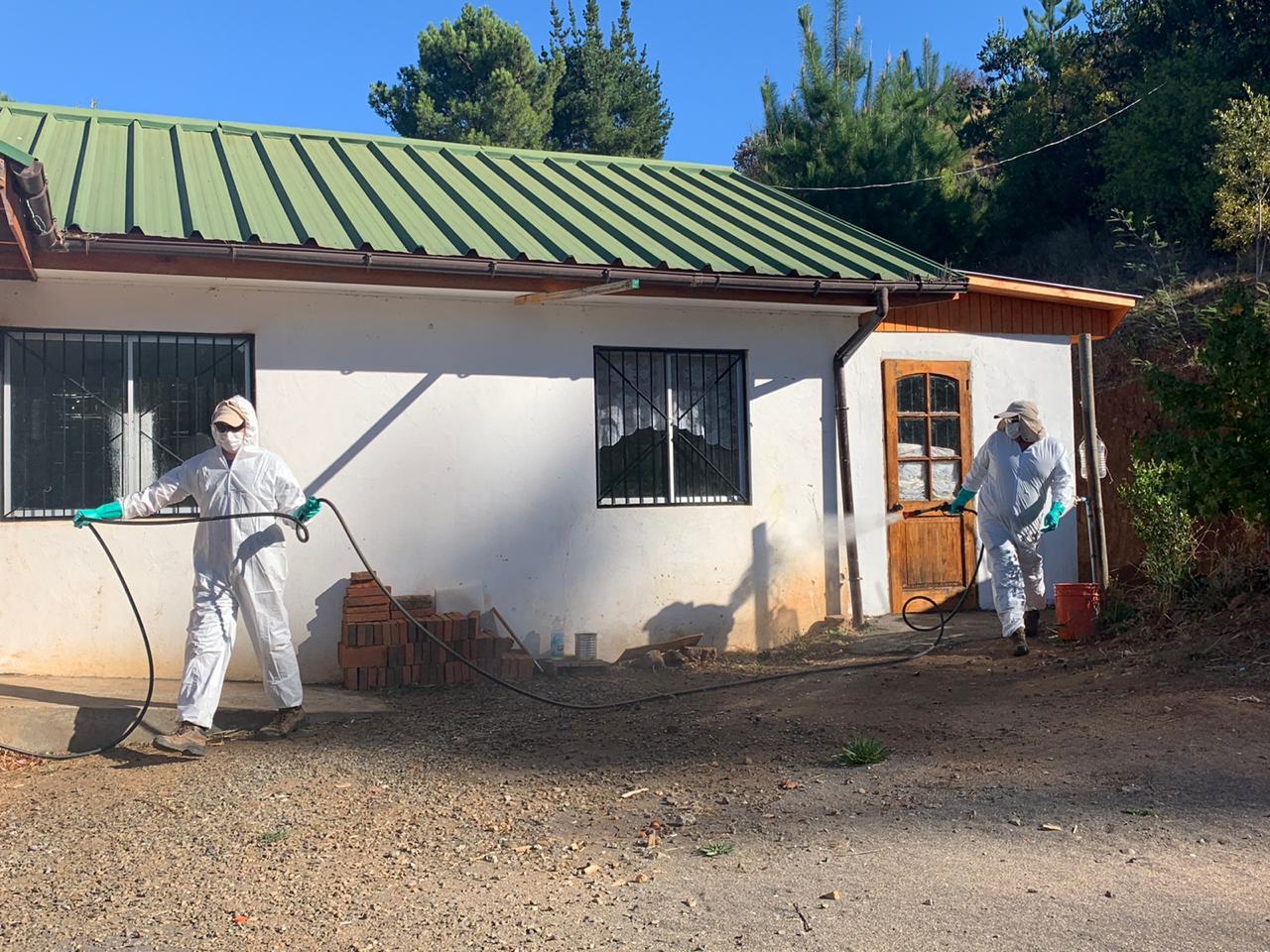 ARAUCO inicia proceso de sanitización masiva en más de 50 localidades del país