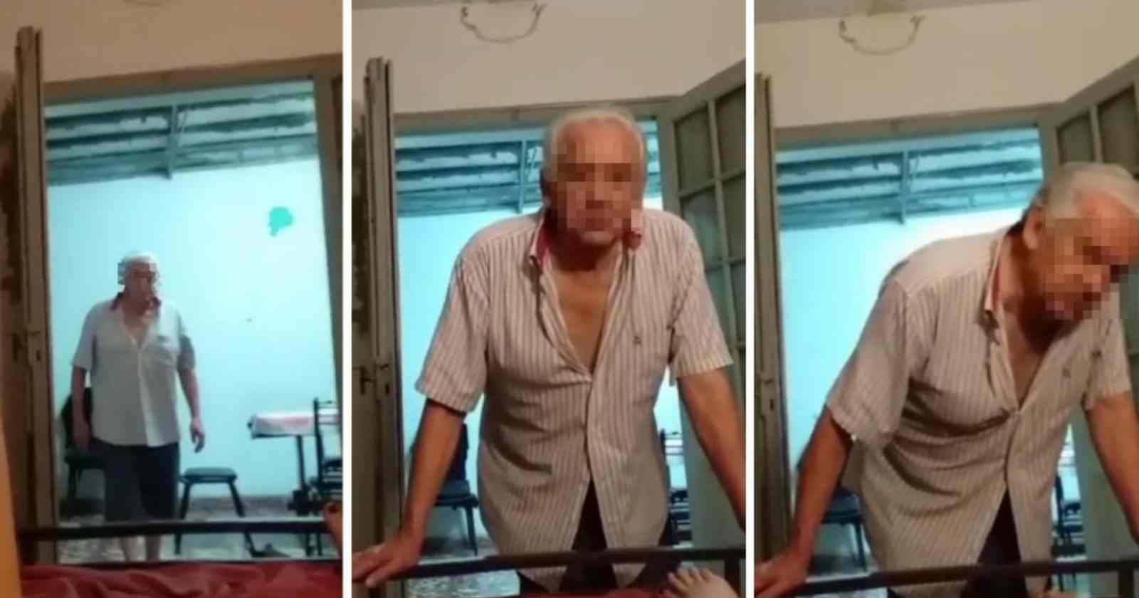 """""""Argentina: grabó a su abuelo de 71 años mientras la acosaba sexualmentepara tener pruebas porque nadie le creía"""""""
