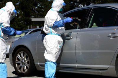 Coronavirus en Uruguay: autoridades copian modelo coreano para aplicar el test sin salir del auto