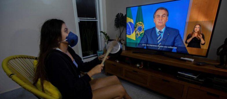 Brasileños realizancacerolazo contra Bolsonaro: hay casi 6 mil contagiados y 202 muertos por coronavirus