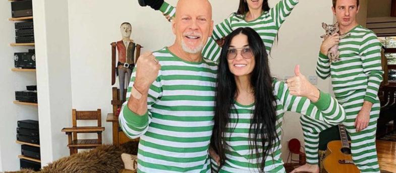 Bruce Willis y Demi Moore sorprendieron al mundo entero: pasan juntos la cuarentena