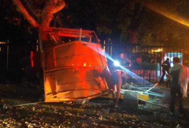 Sujetos fueron detenidos por fuerte explosión en cajero automático de Providencia
