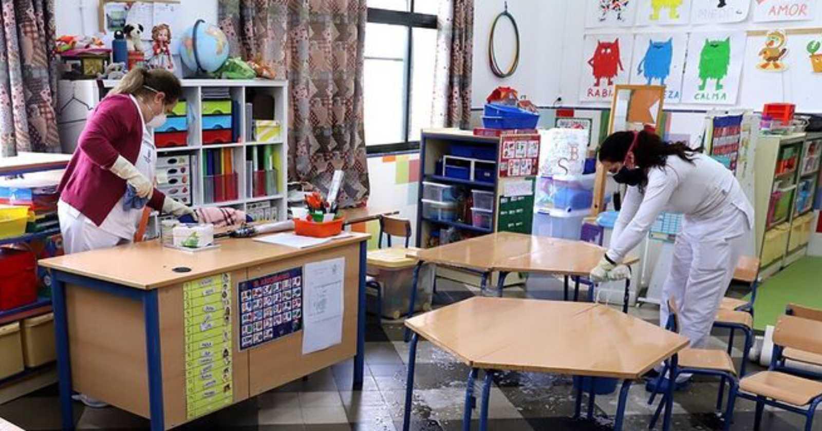 """""""Dinamarca reabre escuelas tras un mes de cuarentena por el coronavirus"""""""