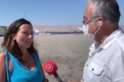 Abren proceso disciplinario contra directora de Sernatur de Arica que fue sorprendida en la playa
