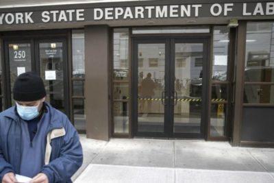 Crisis laboral en Estados Unidos: más de 6 millones de personas solicitaron subsidio de desempleo
