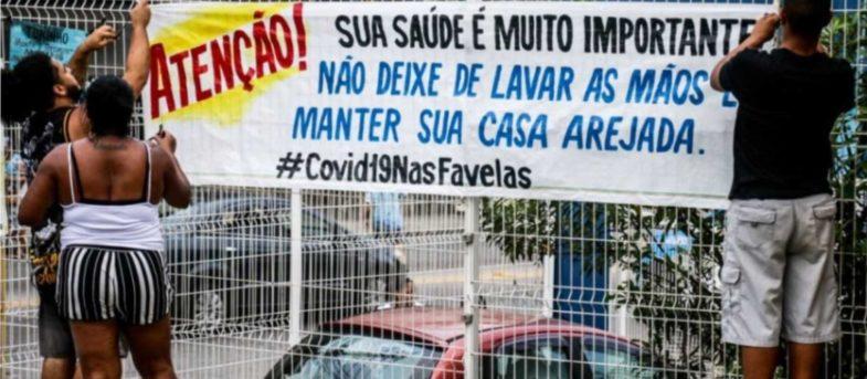 Coronavirus: narcos decretan toque de queda en favelas de Brasil