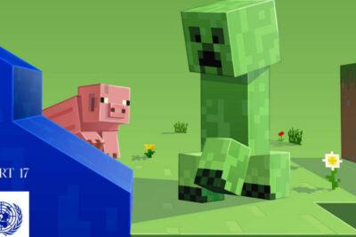 Minecraft se asocia a la ONU para concientizar sobre el coronavirus