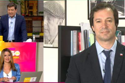 La tensa entrevista del ministro Palacios en CHV