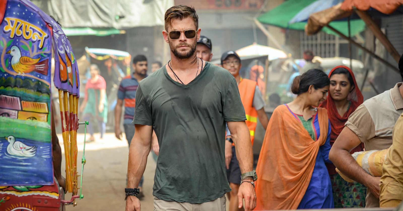 Chris Hemsworth deja de lado a Thor y se convierte en mercenario en nueva película de Netflix