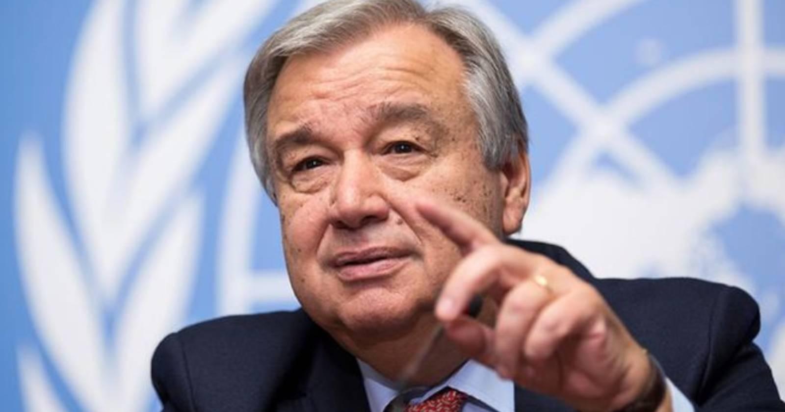 """""""Secretario general de la ONU responde a Trump por suspender fondos a la OMS:"""