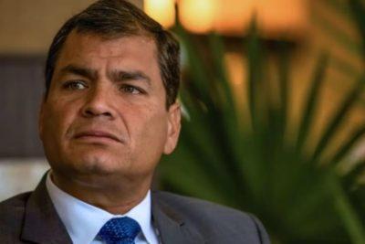 Ex Presidente de Ecuador Rafael Correa es condenado a 8 años de cárcel por corrupción