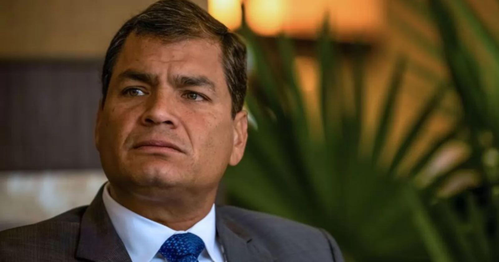 """""""Ex Presidente de Ecuador Rafael Correa es condenado a 8 años de cárcel por corrupción"""""""